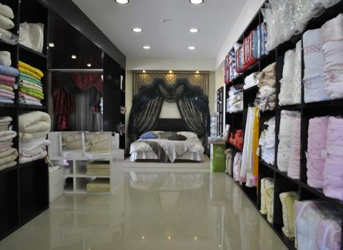 Дизайн магазин текстиль