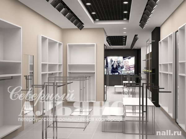 Дизайн магазина одежды дизайн проект