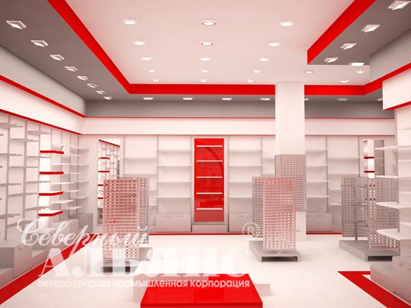 """Дизайн магазина аксессуаров  """"Mr. Сумкин """".  Северный Альянс.  Специалисты дизайн студии.  """"провели адаптацию дизайн..."""